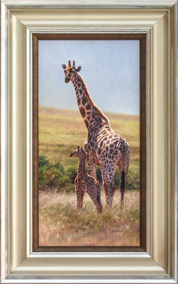 David Langmead - HIGH HOPES - OIL ON CANVAS - 20 X 10