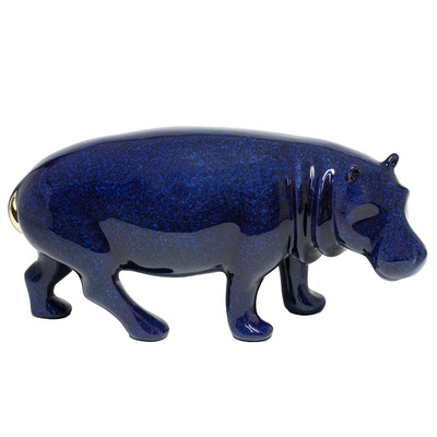 "Loet Vanderveen - HIPPO (163) - BRONZE - 10 X 4 X 5.5 - Free Shipping Anywhere In The USA! <br> <br>These sculptures are bronze limited editions <br> <br><a href=""/[sculpture]/[available]-[patina]-[swatches]/"">More than 30 patinas are available</a>. Available patinas are indicated as IN STOCK. All others must be ordered. Please call the galleries with special order details if not in stock."