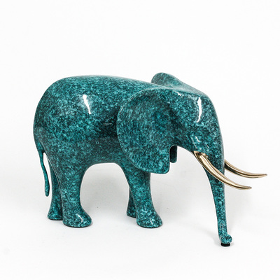 "Loet Vanderveen - ELEPHANT, KENYA (175) - BRONZE - 10 X 7 - Free Shipping Anywhere In The USA! <br> <br>These sculptures are bronze limited editions <br> <br><a href=""/[sculpture]/[available]-[patina]-[swatches]/"">More than 30 patinas are available</a>. Available patinas are indicated as IN STOCK. All others must be ordered. Please call the galleries with special order details if not in stock."