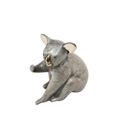 "Loet Vanderveen - KOALA, CLASSIC (347) - BRONZE - 3.5 X 3.5 - Free Shipping Anywhere In The USA! <br> <br>These sculptures are bronze limited editions <br> <br><a href=""/[sculpture]/[available]-[patina]-[swatches]/"">More than 30 patinas are available</a>. Available patinas are indicated as IN STOCK. All others must be ordered. Please call the galleries with special order details if not in stock."