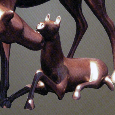 "Loet Vanderveen - HORSE, SMALL COLT (FROM LARGE HORSE AND COLT) (400) - BRONZE - Free Shipping Anywhere In The USA! <br> <br>These sculptures are bronze limited editions <br> <br><a href=""/[sculpture]/[available]-[patina]-[swatches]/"">More than 30 patinas are available</a>. Available patinas are indicated as IN STOCK. All others must be ordered. Please call the galleries with special order details if not in stock."