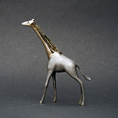 "Loet Vanderveen - GIRAFFE, SM STANDING W/POLISHED HEAD&NECK (460) - BRONZE - 7.25 X 1.5 X 8.5 - Free Shipping Anywhere In The USA! <br> <br>These sculptures are bronze limited editions <br> <br><a href=""/[sculpture]/[available]-[patina]-[swatches]/"">More than 30 patinas are available</a>. Available patinas are indicated as IN STOCK. All others must be ordered. Please call the galleries with special order details if not in stock."
