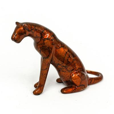"Loet Vanderveen - LIONESS, ALERT (504) - BRONZE - 6.5 X 3 X 4.5 - Free Shipping Anywhere In The USA! <br> <br>These sculptures are bronze limited editions <br> <br><a href=""/[sculpture]/[available]-[patina]-[swatches]/"">More than 30 patinas are available</a>. Available patinas are indicated as IN STOCK. All others must be ordered. Please call the galleries with special order details if not in stock."