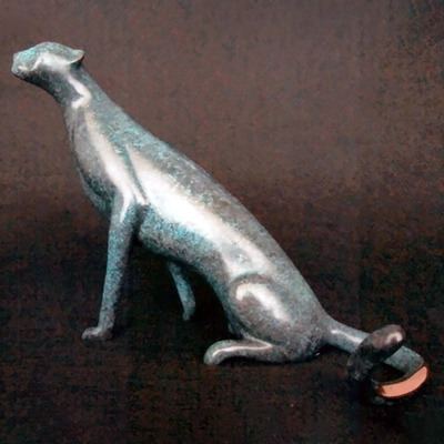 "Loet Vanderveen - CHEETAH, MAJESTIC-FEMALE (528) - BRONZE - 9.25 X 6 X 7.5 - Free Shipping Anywhere In The USA! <br> <br>These sculptures are bronze limited editions <br> <br><a href=""/[sculpture]/[available]-[patina]-[swatches]/"">More than 30 patinas are available</a>. Available patinas are indicated as IN STOCK. All others must be ordered. Please call the galleries with special order details if not in stock."