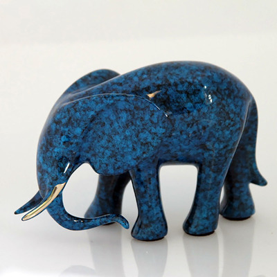 "Loet Vanderveen - ELEPHANT, CALF (531) - BRONZE - 6 X 2.25 X 3.5 - Free Shipping Anywhere In The USA! <br> <br>These sculptures are bronze limited editions <br> <br><a href=""/[sculpture]/[available]-[patina]-[swatches]/"">More than 30 patinas are available</a>. Available patinas are indicated as IN STOCK. All others must be ordered. Please call the galleries with special order details if not in stock."