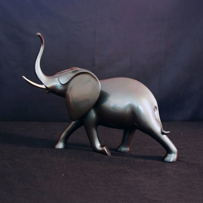 "Loet Vanderveen - ELEPHANT, CHARGING (536) - BRONZE - 18 X 18.5 X 14 - Free Shipping Anywhere In The USA! <br> <br>These sculptures are bronze limited editions <br> <br><a href=""/[sculpture]/[available]-[patina]-[swatches]/"">More than 30 patinas are available</a>. Available patinas are indicated as IN STOCK. All others must be ordered. Please call the galleries with special order details if not in stock."