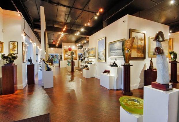 Native Visions Galleries Palm Beach Gardens Art Gallery Interior 2