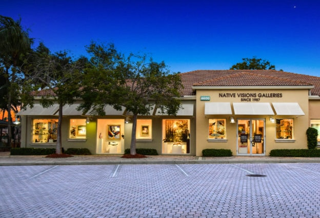Native Visions Galleries Palm Beach Gardens Store Front